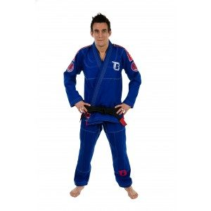 Kimono Jiu Jitsu Brésilien Booster Pro Slim Fit Royal