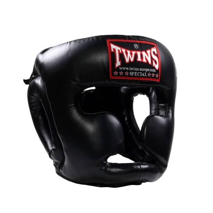 Casque de Boxe Twins Noir