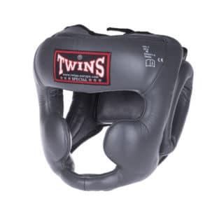 Casque de Boxe Twins Gris
