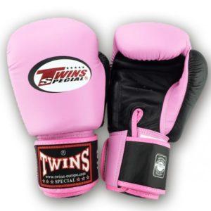 Gants de boxe Twins Rose / Noir