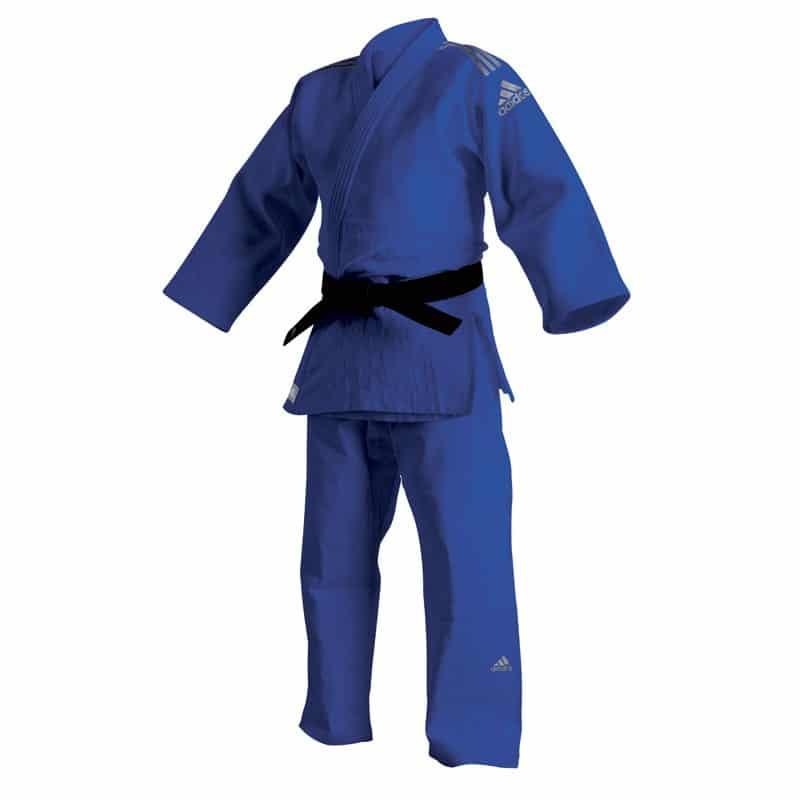 "Kimono de Judo Adidas ""Champion II"" Bleu"