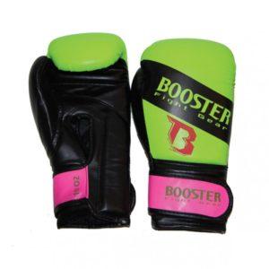 Gants de boxe Booster neon