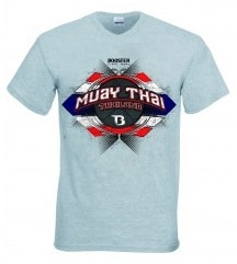 T-shirt Booster gris Muay Thai