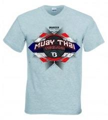 T-shirt Booster gris Muay Thai
