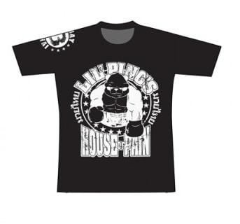 T-shirt Booster noir