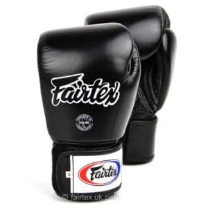 Gants de boxe Fairtex noir