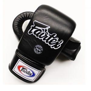 Gants de boxe Fairtex noir-blanc