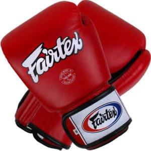 Gant de boxe Fairtex rouge