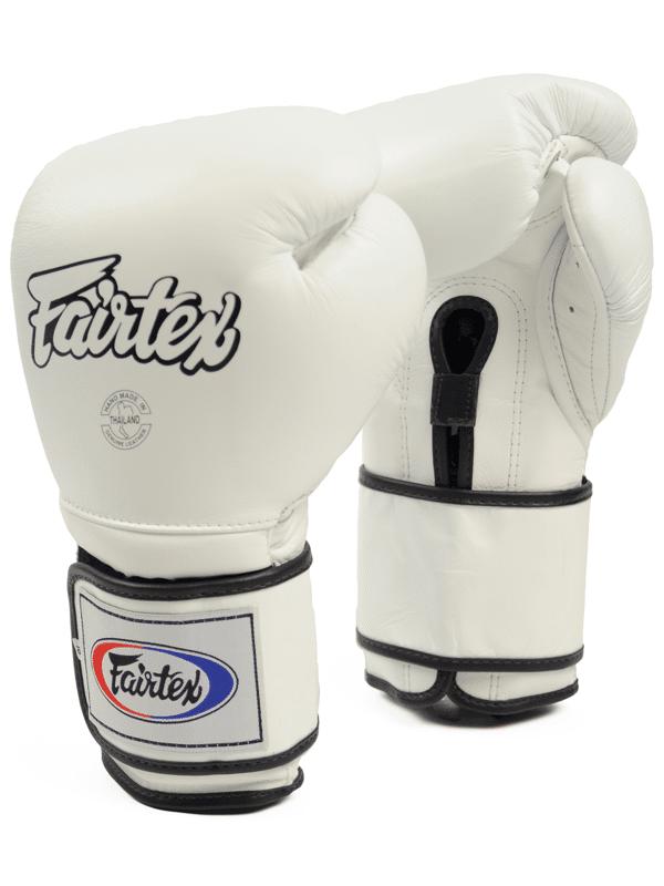 Gant de Boxe Fairtex blanc