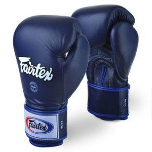 Gants de boxe Fairtex bleu