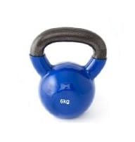 Kettlebell 6 kg bleu
