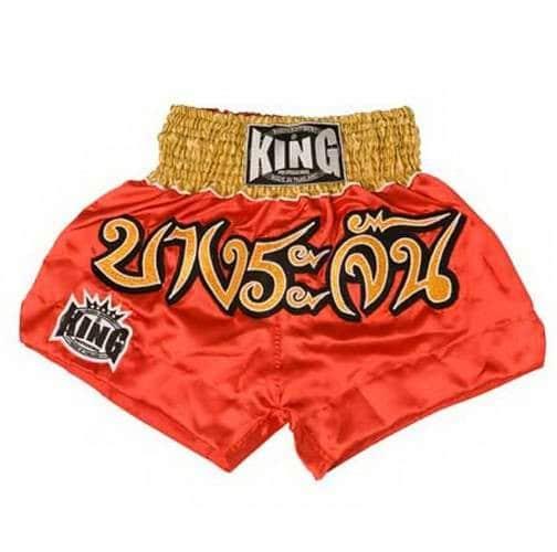 Short thai King rouge/or