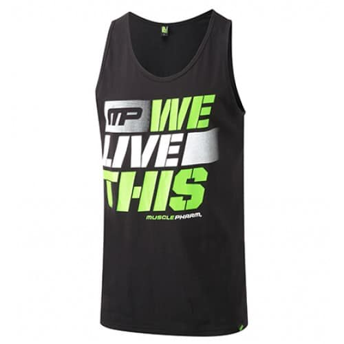Singlet MusclePharm noir