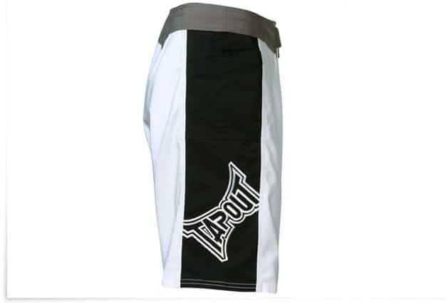 Short MMA Tapout blanc