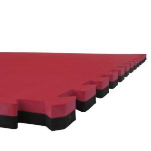Tapis puzzle 1mx1mx2.5cm Noir / Rouge