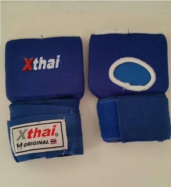 Sous-gants rembourrés X-thai bleu