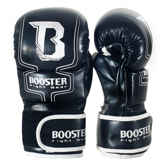 MMA Booster Black Gloves
