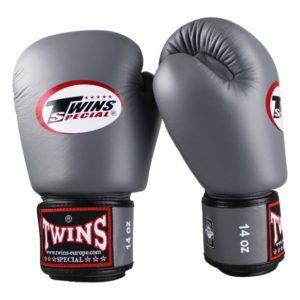 Gants de Boxe Twins Gris