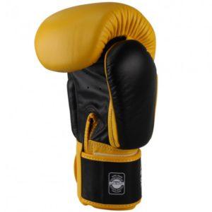 Gants de boxe Twins Jaune Noir