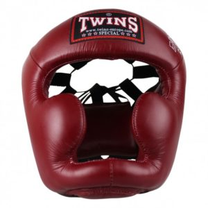 Casque de Boxe Twins Bordeaux