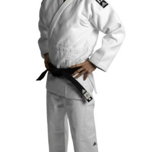 KIMONO JUDO ADIDAS CHAMPION IJF BLANC
