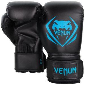 Gants de boxe Venum Contender Noir / Bleu