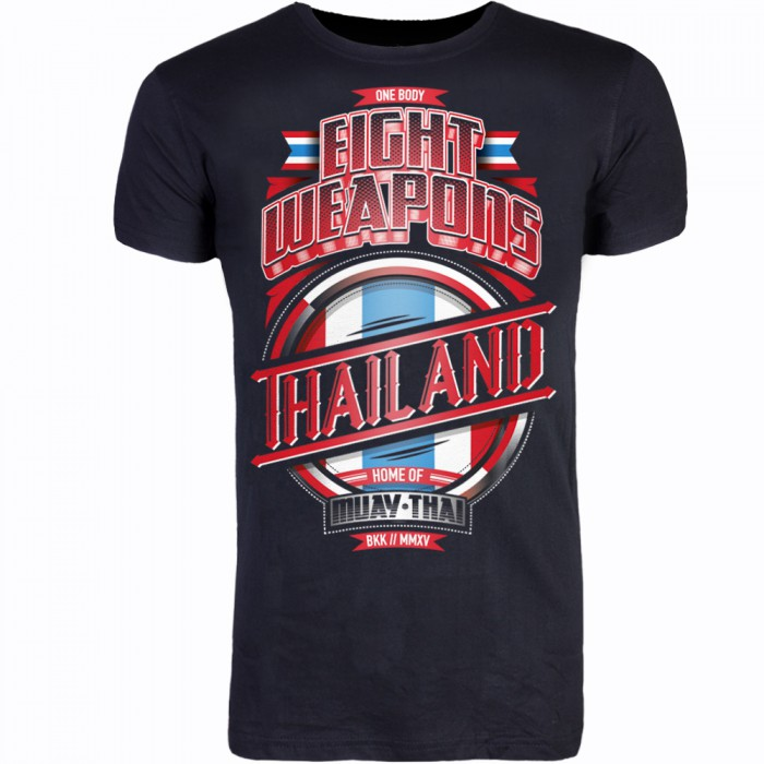 T-SHIRT 8 Weapons Tee Mighty Thailand