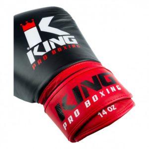 Gants de Boxe King Pro KPB/BG 1 Noir/Rouge