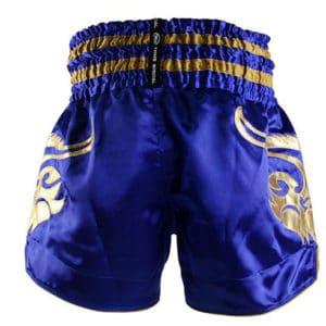 Twins short de Muay Thai Bleu Or