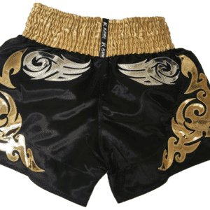 Short Muay Thaï King Noir Or