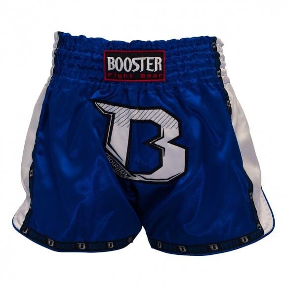 Short Boxe Thai Booster TBT PRO Bleu / Blanc