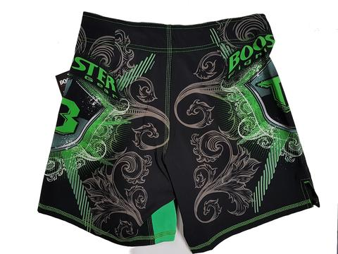 Short Booster MMA PRO 15 SHIELD GREEN