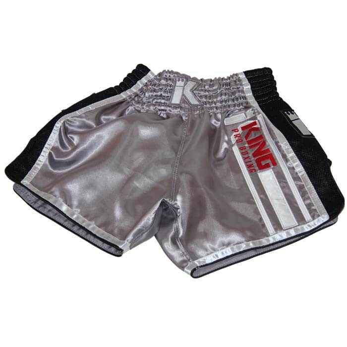 King Pro Boxing Muay Thai Shorts KPB/BT-9 Gris