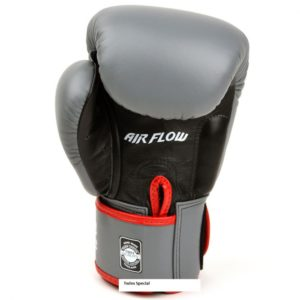 Gants de Boxe Air Twins Gris / Rouge