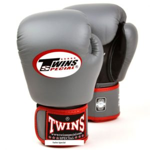 Gants de boxe Air Twins Gris et Rouge