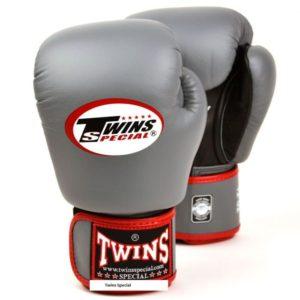 Gants de boxe Air Twins Gris et Rouge