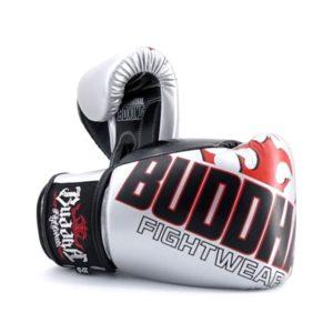 Gants de boxe Buddha Millenium Gris / Noir