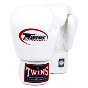 BOXING GLOVES TWINS WHITE
