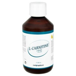 Cytosphere L-Carnitine liquide - 300ml + vit. B5 - Citron