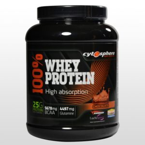 Cytosphere Whey Protein 100% - 900g - Chocolat, Vanille, Fraise Banane, Ice Coffee, Speculoos