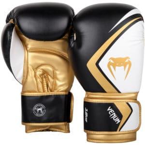 Gants de boxe Venum Contender 2.0 - Noir/Blanc/Or