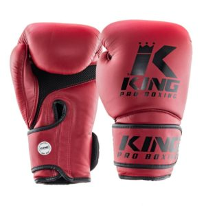 Gants de Boxe KING Star Mesh - Bordeaux