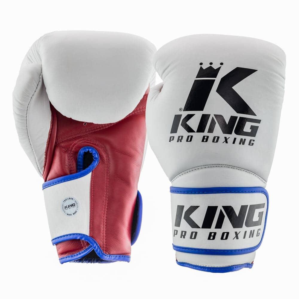Gants de Boxe KING Star - Blanc/Bordeaux