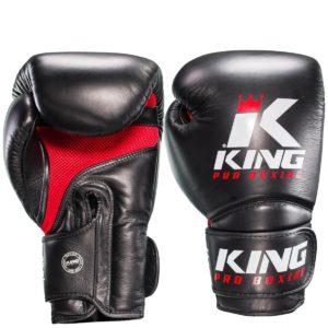 Gants de Boxe KING Star Mesh - Noir/Rouge