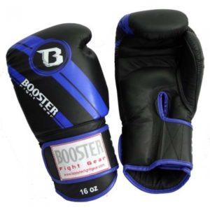 Gants de Boxe Cuir BGL 1 V3 NOIR/BLEU