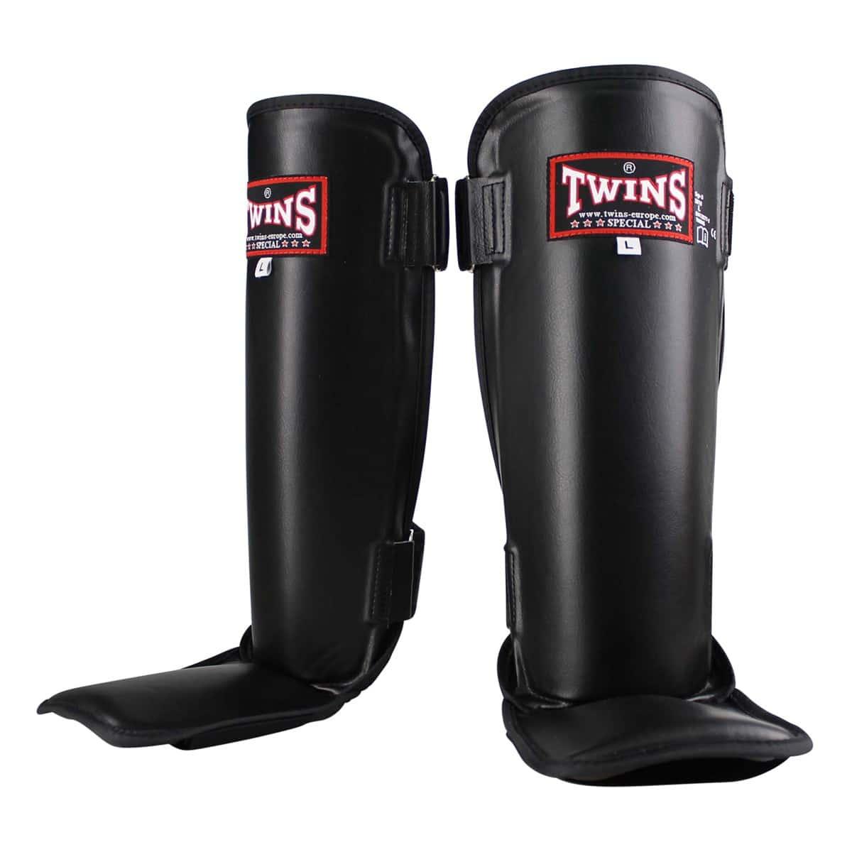 Protège Tibias Pieds Twins Noir SG 3