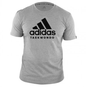 T-shirt ADIDAS Taekwondo Community Gris