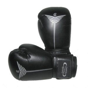 Gants de boxe CHAMPBOXING noir