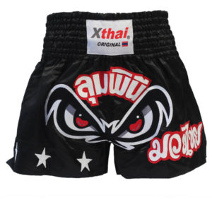 Xthai Thai Boxing Short Tribal Black