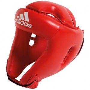 Casque Boxe Adidas Initiation Rouge